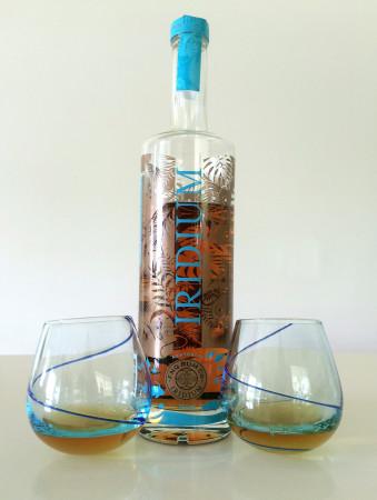 Iridium Gold Rum Tasting Glasses