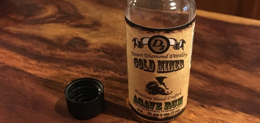 Desert Diamond Distillery – Gold Miner Agave Rum